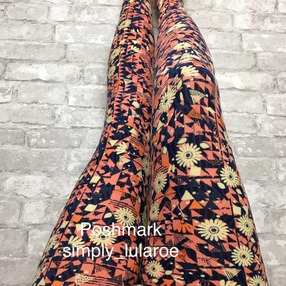 4ad52944b38fe5 LuLaRoe Pants Os Daisy Leggings | Poshmark